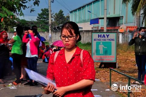 Bị nợ lương trước Tết, gần 2000 công nhân tiếp tục ngồi la liệt trước công ty - Ảnh 6.