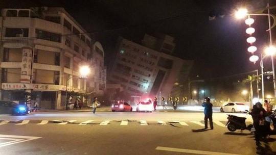Động đất kinh hoàng ở Đài Loan, hơn 100 người thương vong - Ảnh 3.