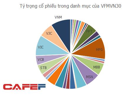 Quỹ ETF nội VFMVN30 thu hút 78 triệu USD mới trong tháng 1, dồn tiền mua HPG, VIC và VNM - Ảnh 2.