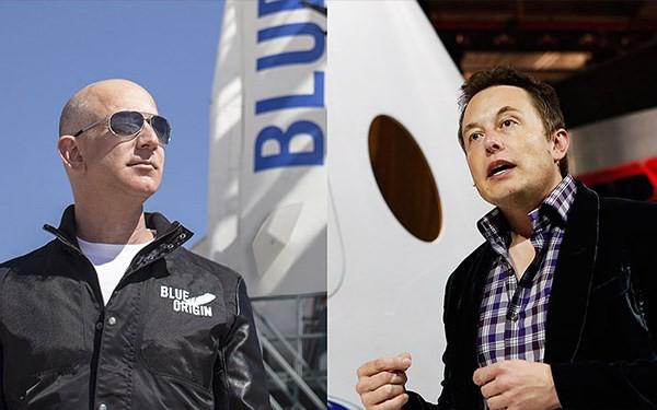 Bạn có tin nổi không: Jeff Bezos đăng Tweet chúc mừng SpaceX phóng tên lửa vào vũ trụ, Elon Musk vào thả emoji nụ hôn - Ảnh 1.