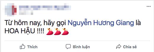 Từ hôm nay hãy gọi Hương Giang là Hoa hậu chính là câu nói hot nhất ngày hôm nay! - Ảnh 6.