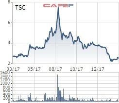 VnIndex tiến sát đỉnh lịch sử, hàng loạt doanh nghiệp có vốn nghìn tỷ vẫn mãi giao dịch với thị giá ngang cốc trà đá - Ảnh 9.