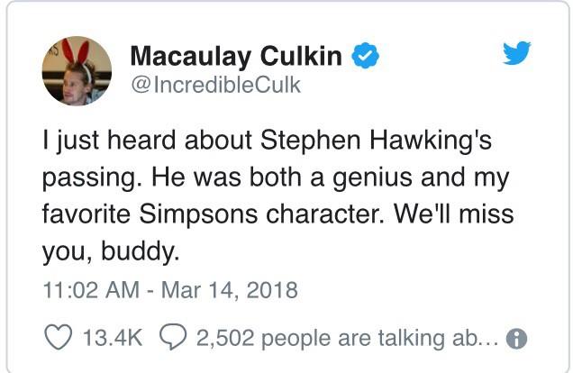 """Đây là cách """"cả thế giới"""" thể hiện niềm thương tiếc trước sự ra đi của nhà bác học vĩ đại Stephen Hawking - Ảnh 3."""