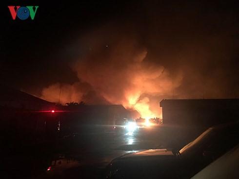 Cháy lớn tại Khu công nghiệp Biên Hòa 2 - Ảnh 1.
