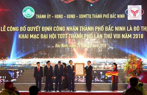 Phó Thủ tướng Vương Đình Huệ: Xây dựng Bắc Ninh thành đô thị đáng sống