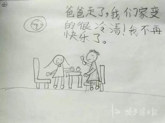 Nhật ký bằng tranh vẽ của bé gái 8 tuổi có bố là cảnh sát: những cuộc gọi khiến bố trở nên xa cách - Ảnh 4.