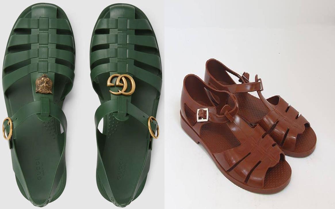 Mẫu sandal mới ra mắt của Gucci gây xôn xao mạng xã hội vì quá giống dép rọ bộ đội của Việt Nam