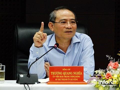 Ông Trương Quang Nghĩa nói về những trái khoáy ở hầm chui cầu Sông Hàn - Ảnh 2.