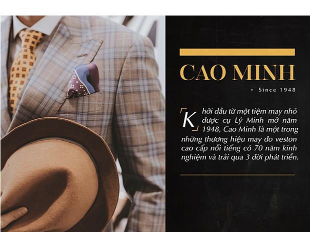 Cao Minh và hành trình 70 năm trở thành thương hiệu hàng đầu về Bespoke dành riêng cho quý ông - Ảnh 1.
