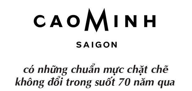 Cao Minh và hành trình 70 năm trở thành thương hiệu hàng đầu về Bespoke dành riêng cho quý ông - Ảnh 3.