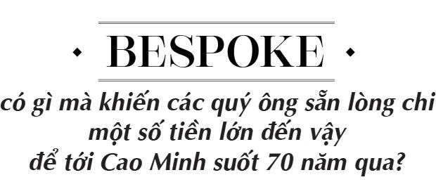Cao Minh và hành trình 70 năm trở thành thương hiệu hàng đầu về Bespoke dành riêng cho quý ông - Ảnh 5.