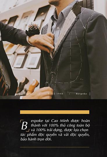 Cao Minh và hành trình 70 năm trở thành thương hiệu hàng đầu về Bespoke dành riêng cho quý ông - Ảnh 6.