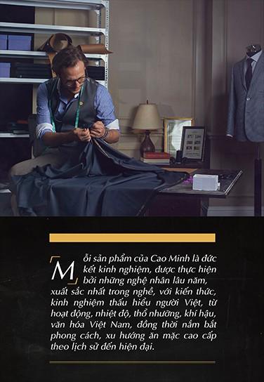 Cao Minh và hành trình 70 năm trở thành thương hiệu hàng đầu về Bespoke dành riêng cho quý ông - Ảnh 9.