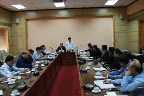 Công bố quyết định thanh tra Tổng Công ty Thiết bị y tế Việt Nam - Ảnh 1.