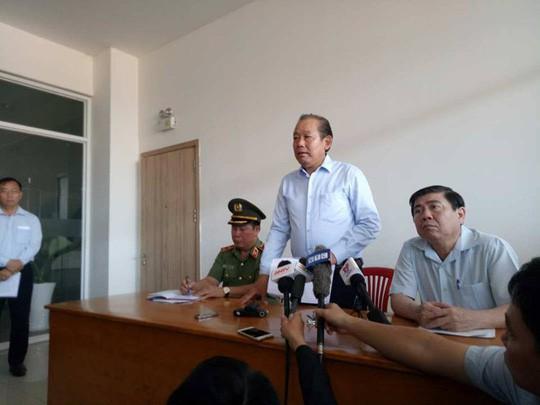 Phó Thủ tướng chỉ đạo điều tra khách quan vụ cháy chung cư Carina - Ảnh 1.