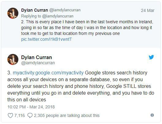 Lo sợ khi nghe tin Facebook thu thập dữ liệu? Kiểm tra tài khoản Google bạn còn khiếp hãi hơn - Ảnh 2.