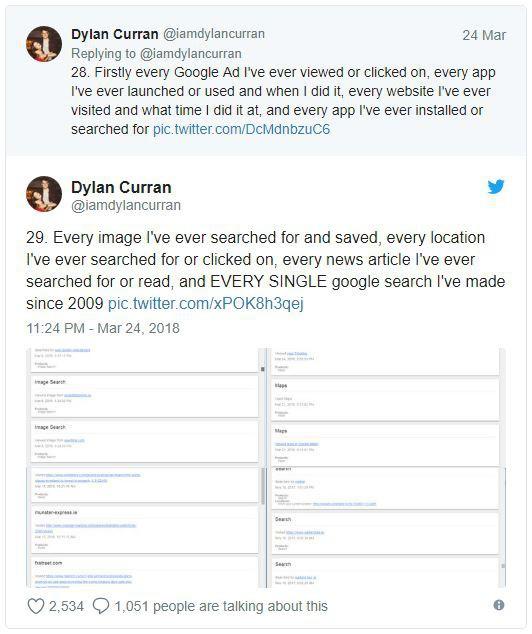 Lo sợ khi nghe tin Facebook thu thập dữ liệu? Kiểm tra tài khoản Google bạn còn khiếp hãi hơn - Ảnh 4.