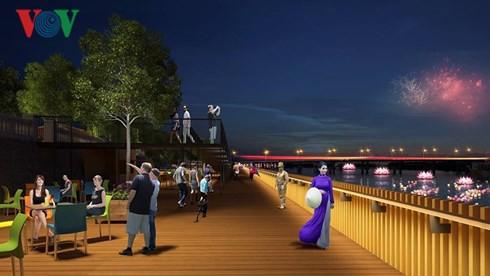 Ý kiến trái chiều về dự án đường đi bộ bằng gỗ lim trên sông Hương - Ảnh 2.