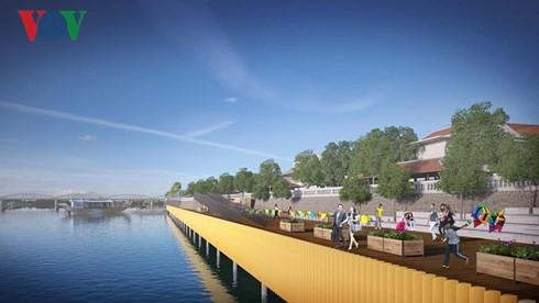 Ý kiến trái chiều về dự án đường đi bộ bằng gỗ lim trên sông Hương - Ảnh 3.