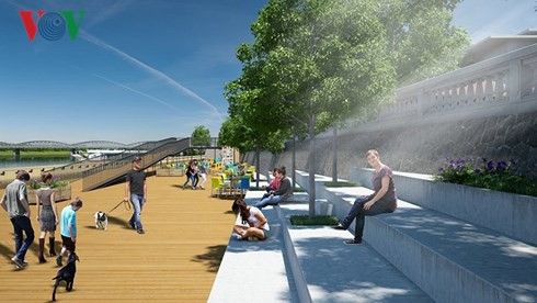 Ý kiến trái chiều về dự án đường đi bộ bằng gỗ lim trên sông Hương - Ảnh 4.