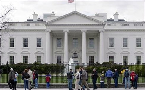 Nổ súng bên ngoài Nhà Trắng, Mỹ - Ảnh 1.