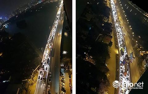 Hà Nội: Xe khách gây tai nạn đường trên cao lúc đêm khuya, hành khách hoảng loạn - Ảnh 10.