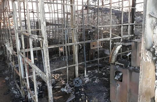 Cháy lớn tại Công ty Sâm Ngọc Linh Đà Lạt - Ảnh 2.