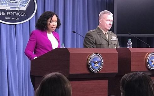 Mỹ phản bác Nga về con số tên lửa bị Syria bắn hạ - Ảnh 1.