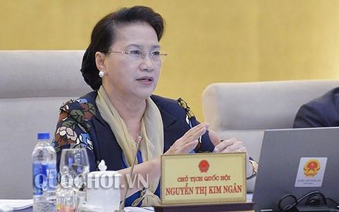 Bế mạc phiên họp thứ 23 của Ủy ban Thường vụ Quốc hội - Ảnh 1.