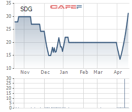 Sadico Cần Thơ (SDG) bất ngờ tăng trần 9 phiên liên tiếp; sắp trả cổ tức 20% bằng tiền mặt - Ảnh 2.
