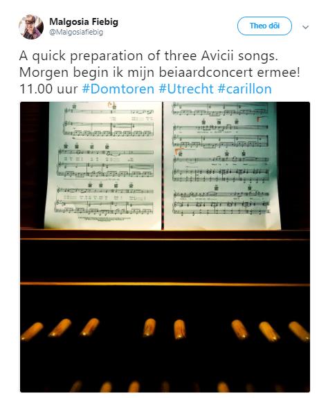 Nhà thờ cao nhất Hà Lan đánh chuông theo giai điệu nhạc của Avicii để tưởng nhớ DJ tài ba qua đời ở tuổi 28 - Ảnh 1.
