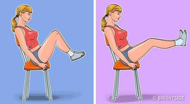 7 động tác giúp loại bỏ mỡ bụng, thon gọn vòng 2 dành cho phụ nữ ngồi nhiều: Đơn giản, ai cũng có thể thực hiện ngay tại văn phòng - Ảnh 5.