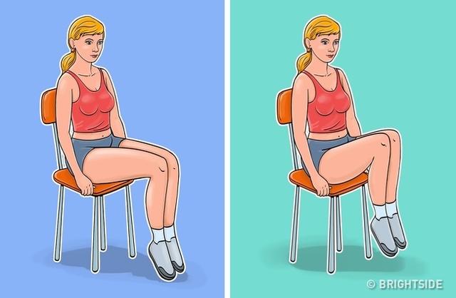 7 động tác giúp loại bỏ mỡ bụng, thon gọn vòng 2 dành cho phụ nữ ngồi nhiều: Đơn giản, ai cũng có thể thực hiện ngay tại văn phòng - Ảnh 6.