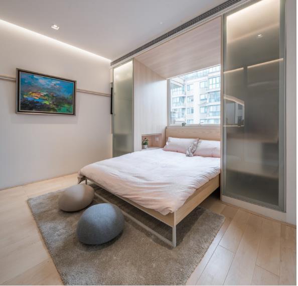 Thiết kế phá cách, ấn tượng của căn hộ cao tầng hơn 100m2 cho gia đình có con nhỏ - Ảnh 15.