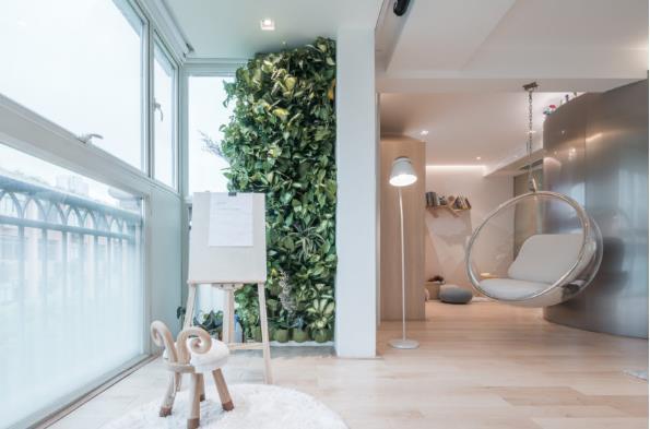 Thiết kế phá cách, ấn tượng của căn hộ cao tầng hơn 100m2 cho gia đình có con nhỏ - Ảnh 6.