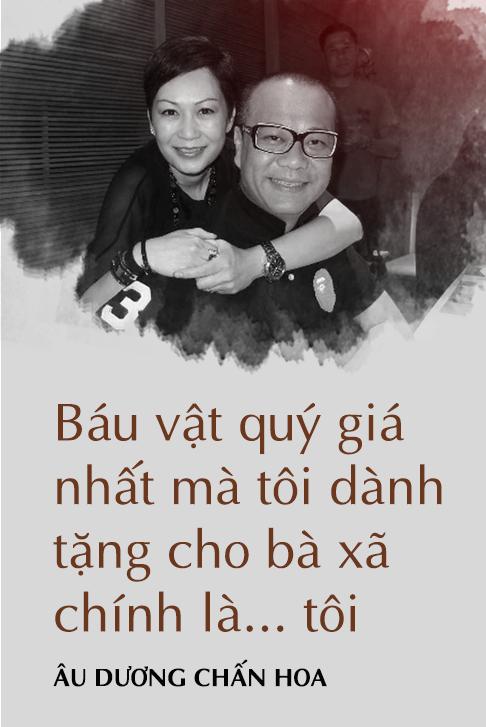 Âu Dương Chấn Hoa trả lời độc quyền báo Việt Nam: 20 năm không con cái, hạnh phúc viên mãn bên vợ tỷ phú - Ảnh 8.