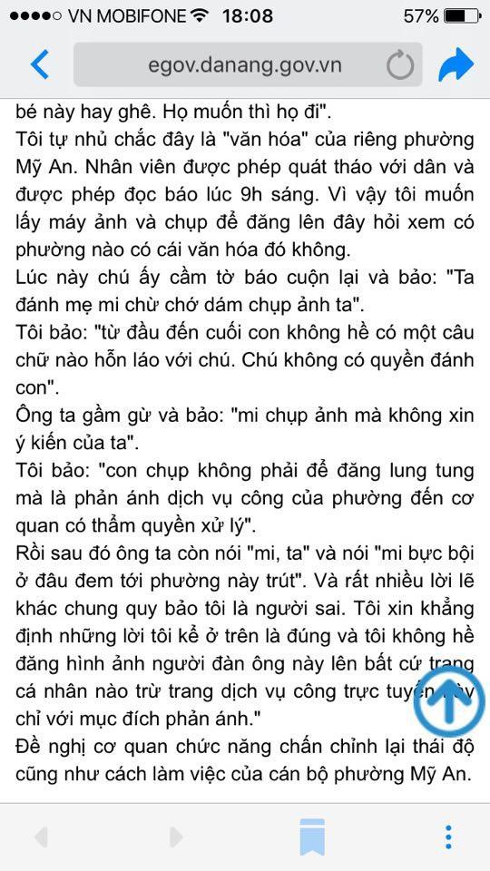 Đà Nẵng kiểm điểm cán bộ dọa dân vì dám chụp ảnh ta - Ảnh 2.