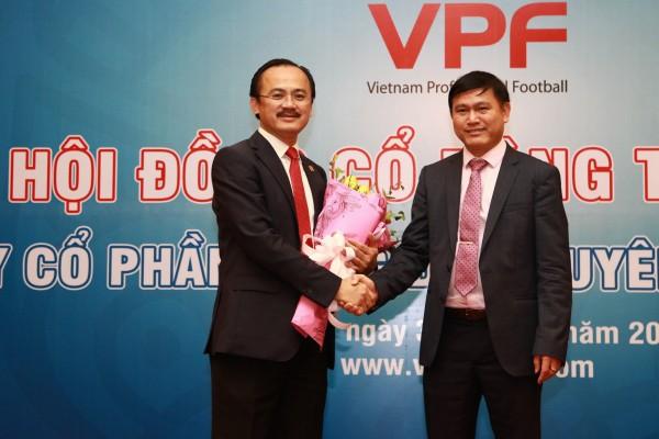 Bầu Thắng, bầu Đức và bầu Tú gặp nhau vì bóng đá Việt Nam - Ảnh 1.