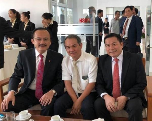 Bầu Thắng, bầu Đức và bầu Tú gặp nhau vì bóng đá Việt Nam - Ảnh 2.