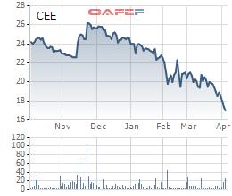 CEE mất đi 31% giá trị từ đầu năm, CII E&C chủ trương mua vào 2 triệu cổ phiếu quỹ - Ảnh 1.