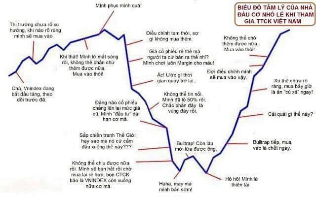 Lạc quan, chán nản, nghi ngờ…bạn đang ở trạng thái nào trên thị trường chứng khoán? - Ảnh 2.