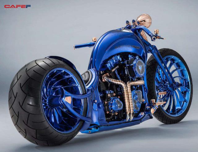 Chiêm ngưỡng chiếc Harley-Davidson được mạ vàng, nạm kim cương có đắt nhất thế giới - Ảnh 1.