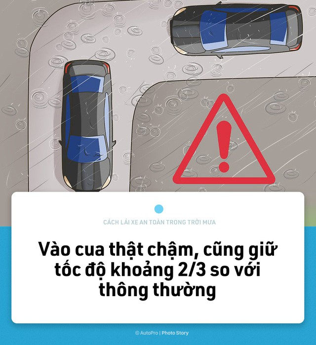 [Photo Story] Lái xe an toàn hơn trong mưa với 15 nguyên tắc sau đây - Ảnh 11.