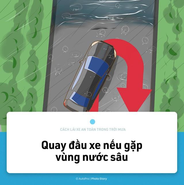 [Photo Story] Lái xe an toàn hơn trong mưa với 15 nguyên tắc sau đây - Ảnh 14.