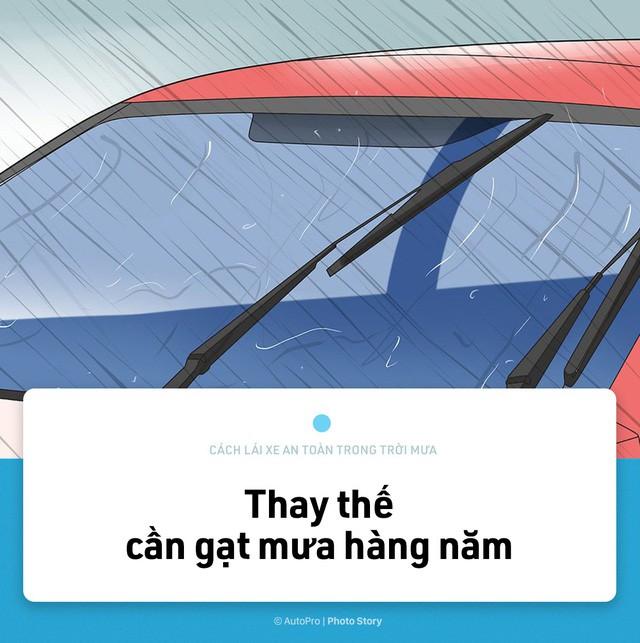 [Photo Story] Lái xe an toàn hơn trong mưa với 15 nguyên tắc sau đây - Ảnh 4.