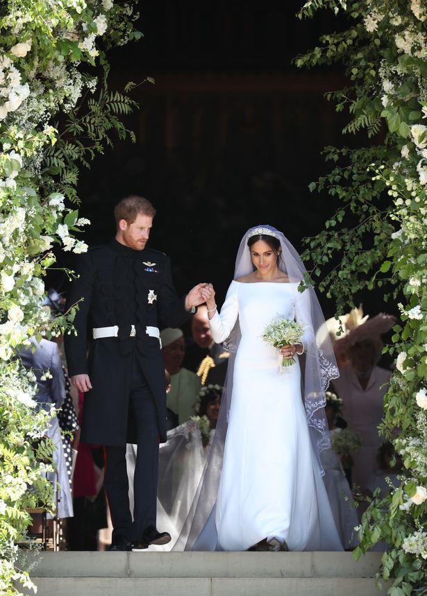 Những khoảnh khắc lãng mạn nhất trong đám cưới Hoàng tử Anh - Ảnh 7.