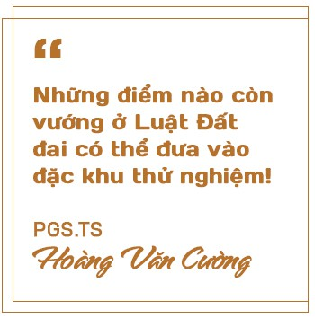 """PGS.TS Hoàng Văn Cường: Ưu đãi tiền thuê đất ở đặc khu """"tạo điều kiện"""" cho đầu cơ, găm đất! - Ảnh 6."""