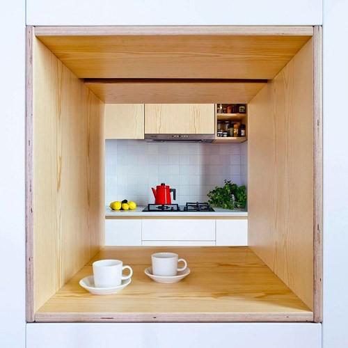 Sử dụng bên trong xe sáng tạo trong căn hộ cao tầng 70 m2 - Ảnh 5.