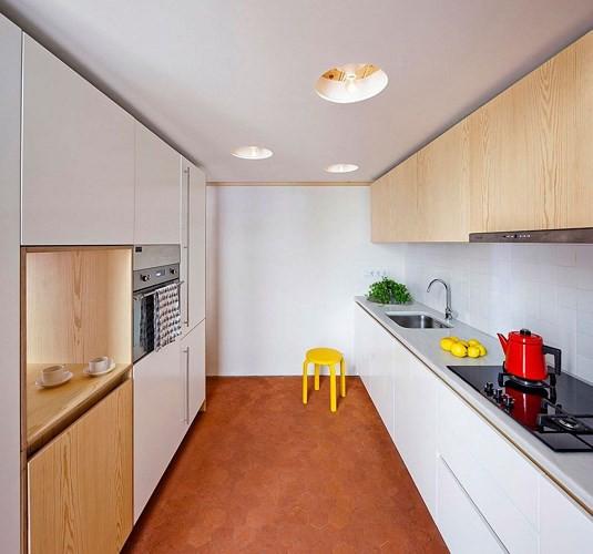 Sử dụng bên trong xe sáng tạo trong căn hộ cao tầng 70 m2 - Ảnh 6.