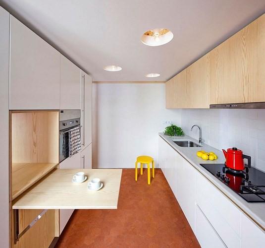 Sử dụng bên trong xe sáng tạo trong căn hộ cao tầng 70 m2 - Ảnh 7.